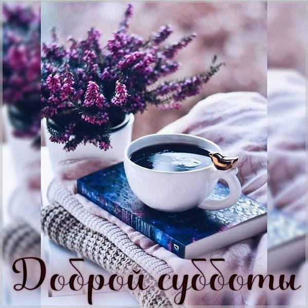 Картинка доброй субботы красивая - скачать бесплатно на otkrytkivsem.ru