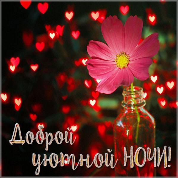 Картинка доброй уютной ночи - скачать бесплатно на otkrytkivsem.ru