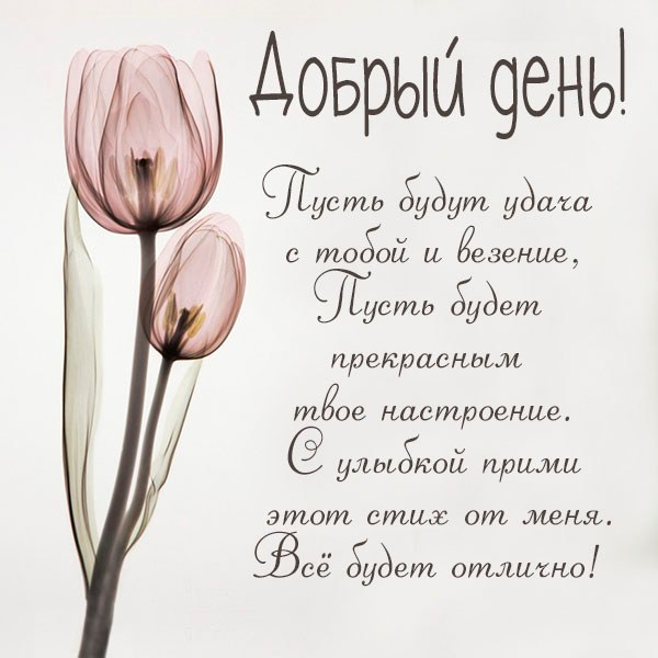 Картинка добрый день позитивного настроения - скачать бесплатно на otkrytkivsem.ru