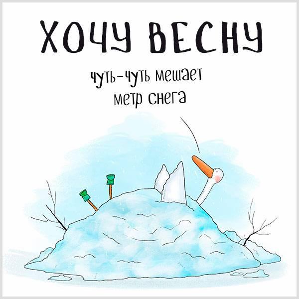 Картинка хочу весну красивая прикольная - скачать бесплатно на otkrytkivsem.ru