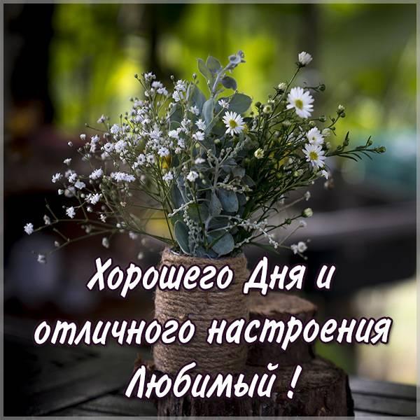 Картинка хорошего дня и отличного настроения любимый - скачать бесплатно на otkrytkivsem.ru