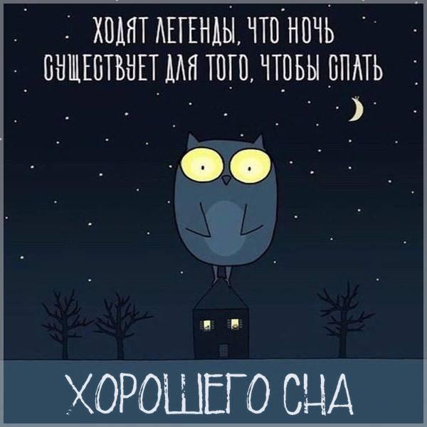 Картинка хорошего сна смешная прикольная - скачать бесплатно на otkrytkivsem.ru