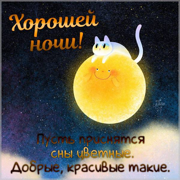Картинка хорошей ночи мужчине прикольная - скачать бесплатно на otkrytkivsem.ru