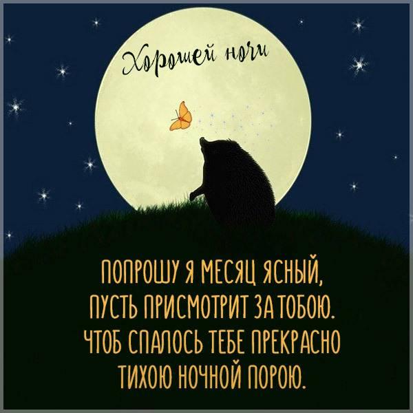 Картинка хорошей ночи в хорошем качестве - скачать бесплатно на otkrytkivsem.ru