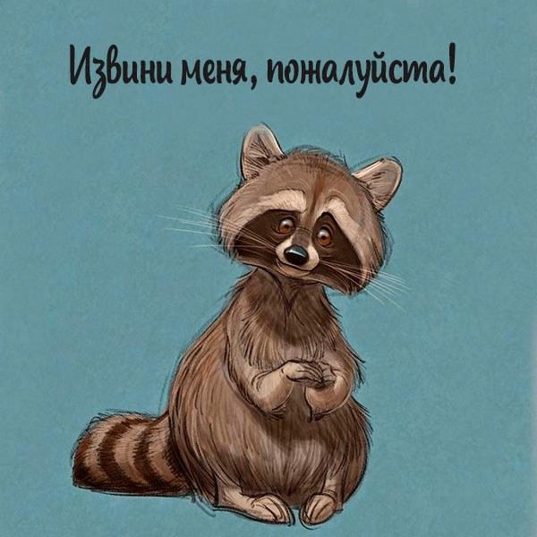 Картинка извини меня пожалуйста прикольная - скачать бесплатно на otkrytkivsem.ru