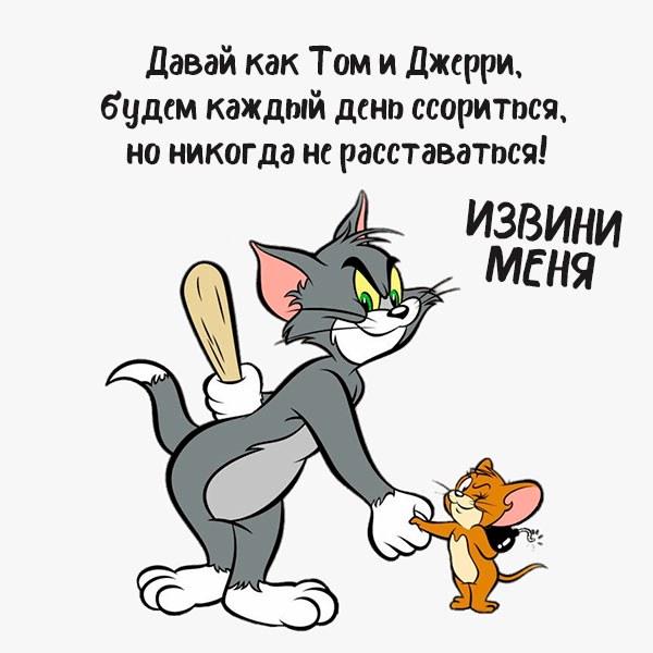 Картинка извини меня смешная - скачать бесплатно на otkrytkivsem.ru