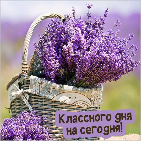 Картинка классного дня на сегодня - скачать бесплатно на otkrytkivsem.ru
