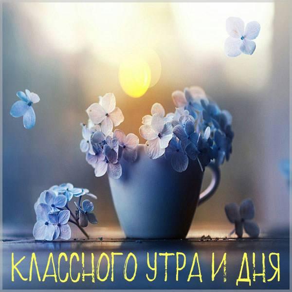 Картинка классного утра и дня - скачать бесплатно на otkrytkivsem.ru