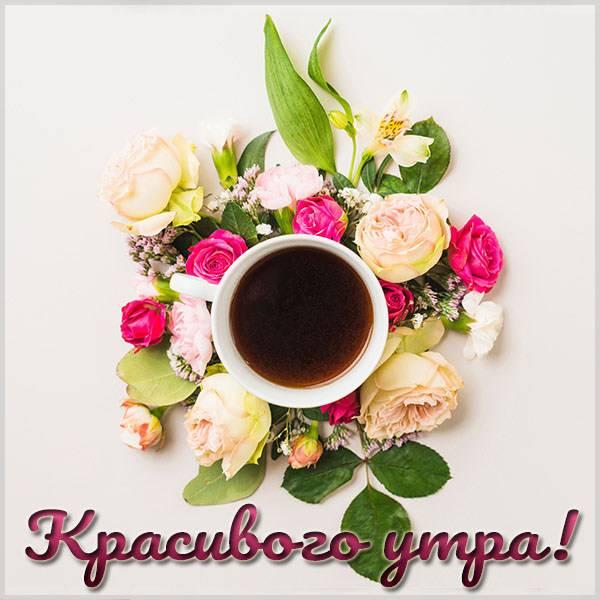 Картинка красивого утра с надписью новая - скачать бесплатно на otkrytkivsem.ru