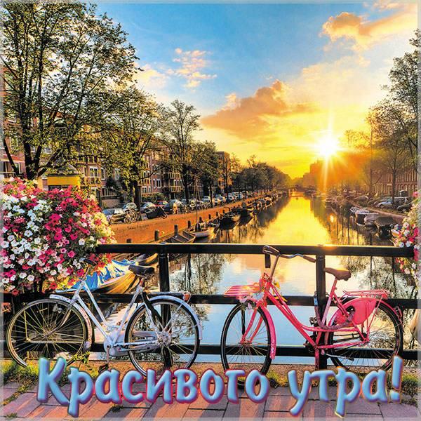 Картинка красивого утра - скачать бесплатно на otkrytkivsem.ru