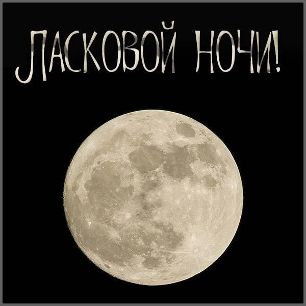 Картинка ласковой ночи с надписью мужчине - скачать бесплатно на otkrytkivsem.ru