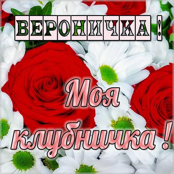 Картинка моя Вероничка - скачать бесплатно на otkrytkivsem.ru