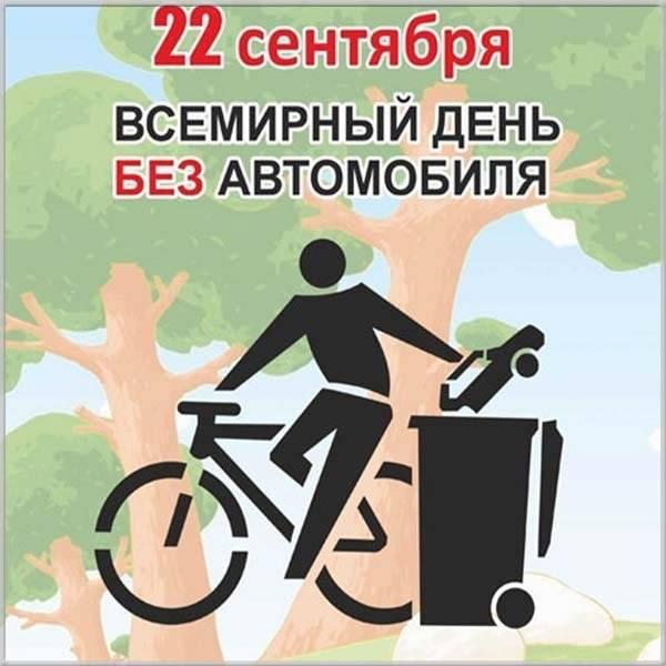 Картинка на день без автомобиля - скачать бесплатно на otkrytkivsem.ru