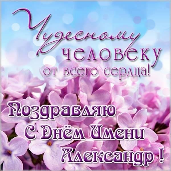 Картинка на день имени Александр - скачать бесплатно на otkrytkivsem.ru