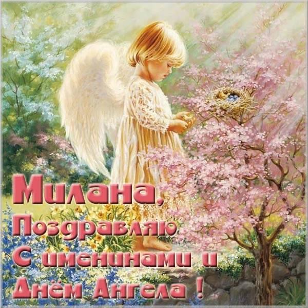 Картинка на день имени Милана - скачать бесплатно на otkrytkivsem.ru
