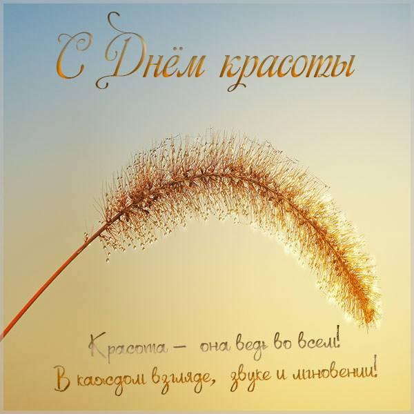 Картинка на день красоты 2020 к 9 сентября - скачать бесплатно на otkrytkivsem.ru