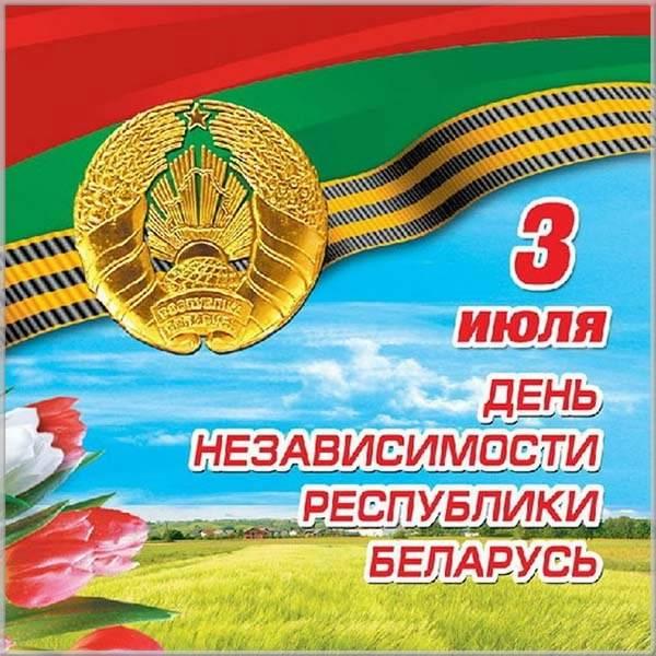 Картинка на день независимости Беларуси - скачать бесплатно на otkrytkivsem.ru