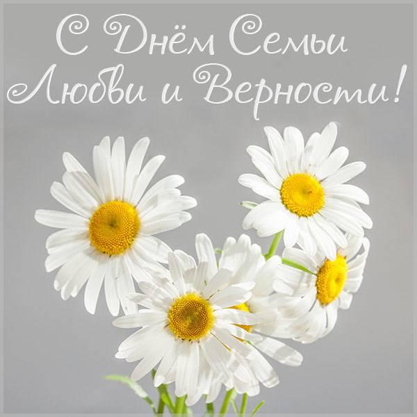Картинка на день семьи любви и верности 2020 - скачать бесплатно на otkrytkivsem.ru
