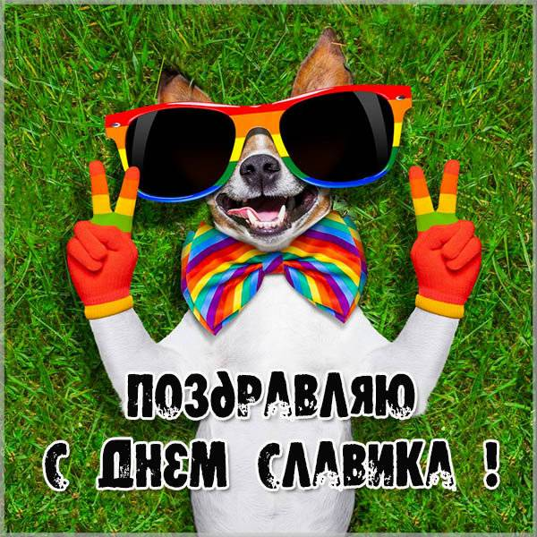 Картинка на день Славика - скачать бесплатно на otkrytkivsem.ru