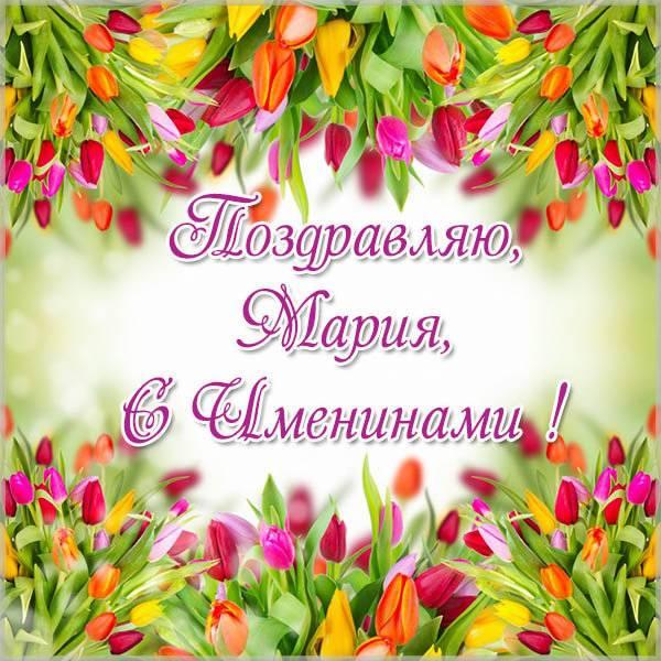Картинка на именины для Марии - скачать бесплатно на otkrytkivsem.ru
