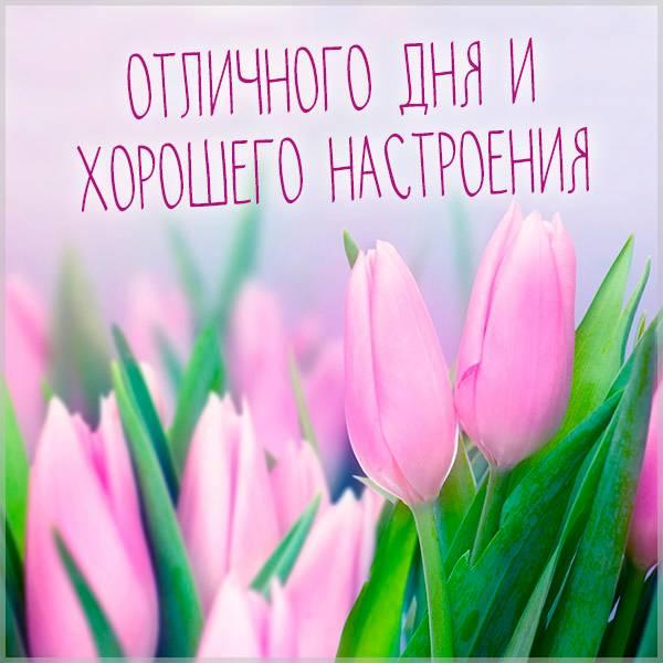 Картинка отличного дня и хорошего настроения - скачать бесплатно на otkrytkivsem.ru