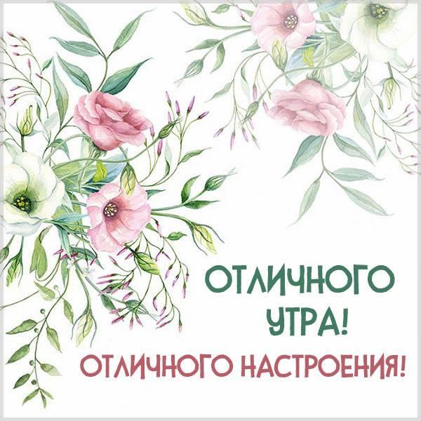 Картинка отличного утра и настроения - скачать бесплатно на otkrytkivsem.ru