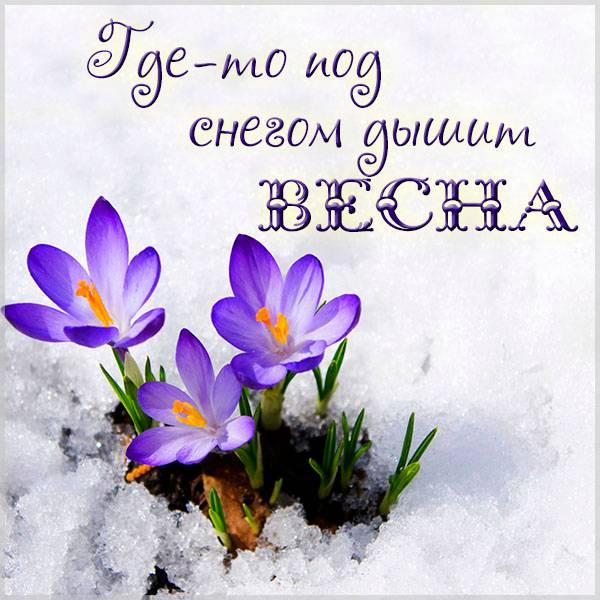 Картинка ожидание весны - скачать бесплатно на otkrytkivsem.ru