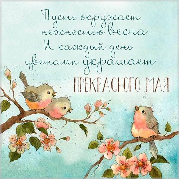 Картинка прекрасного мая - скачать бесплатно на otkrytkivsem.ru