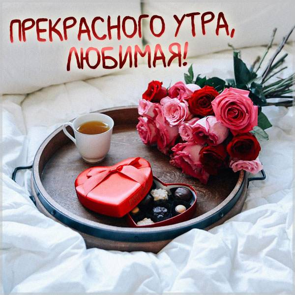 Картинка прекрасного утра любимая красивая - скачать бесплатно на otkrytkivsem.ru