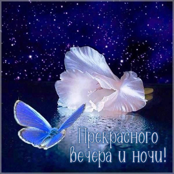 Картинка прекрасного вечера и ночи - скачать бесплатно на otkrytkivsem.ru