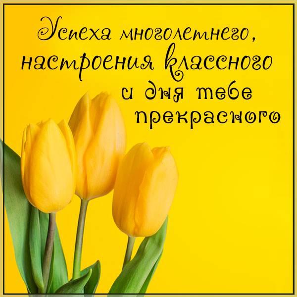 Картинка прекрасного весеннего дня - скачать бесплатно на otkrytkivsem.ru