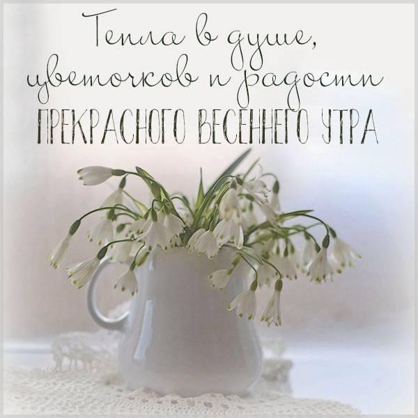 Картинка прекрасного весеннего утра красивая необычная - скачать бесплатно на otkrytkivsem.ru