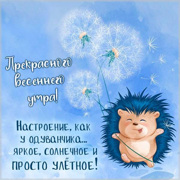 Картинка прекрасного весеннего утра красивая - скачать бесплатно на otkrytkivsem.ru