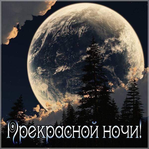 Картинка прекрасной ночи - скачать бесплатно на otkrytkivsem.ru