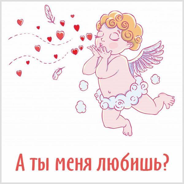 Картинка прикол а ты меня любишь - скачать бесплатно на otkrytkivsem.ru