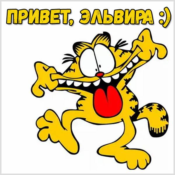 Картинка привет Эльвира - скачать бесплатно на otkrytkivsem.ru