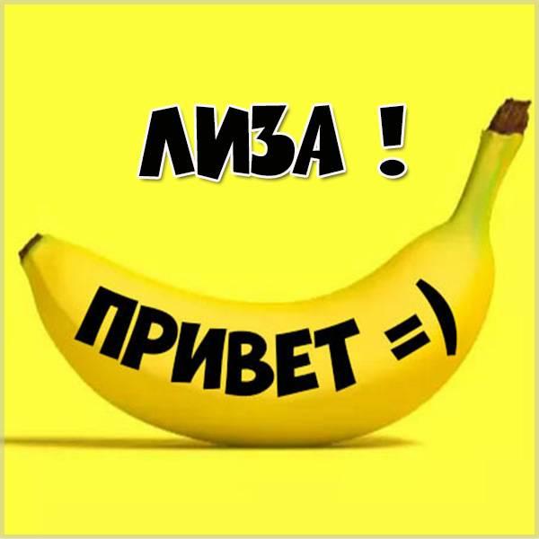 Картинка привет Лиза - скачать бесплатно на otkrytkivsem.ru