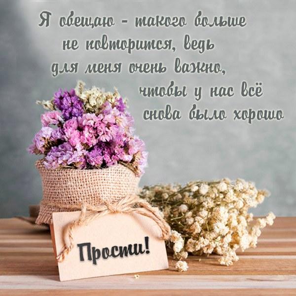 Картинка прости пожалуйста - скачать бесплатно на otkrytkivsem.ru