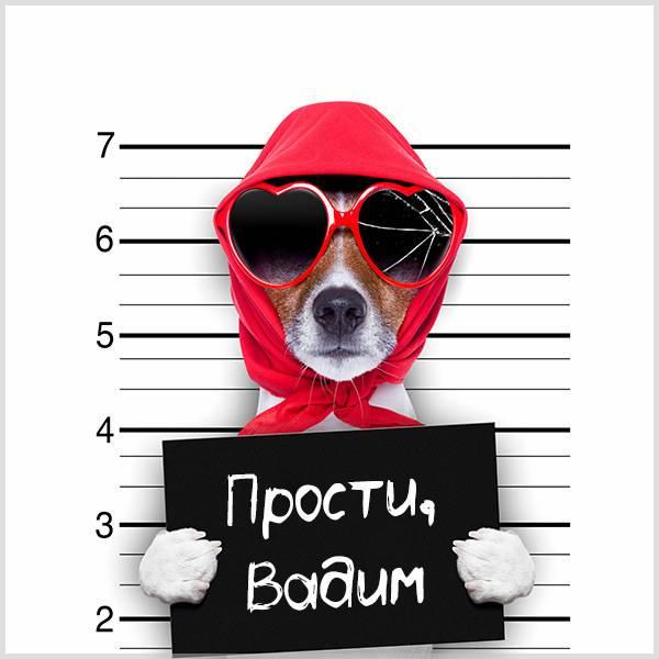 Картинка прости Вадим - скачать бесплатно на otkrytkivsem.ru
