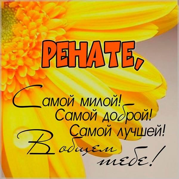 Картинка Ренате - скачать бесплатно на otkrytkivsem.ru