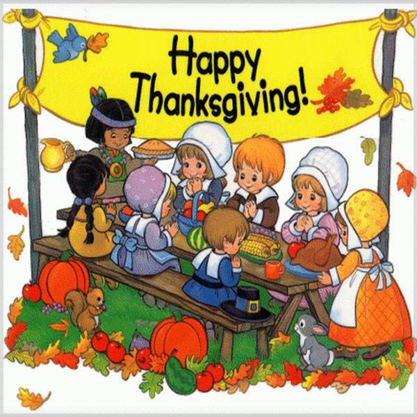 Картинка с днем благодарения на английском языке - скачать бесплатно на otkrytkivsem.ru