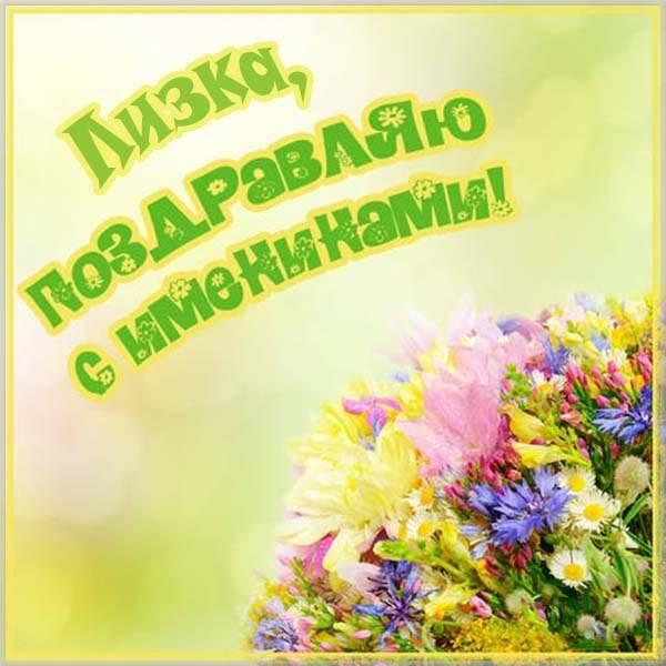 Картинка с днем Лизки - скачать бесплатно на otkrytkivsem.ru