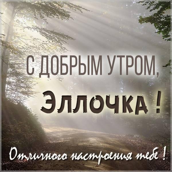Картинка с добрым утром Эллочка - скачать бесплатно на otkrytkivsem.ru