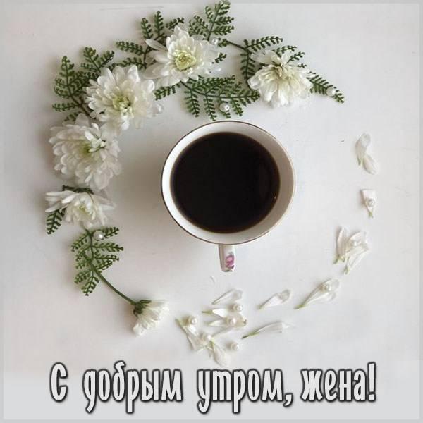 Картинка с добрым утром жене нежная красивая - скачать бесплатно на otkrytkivsem.ru