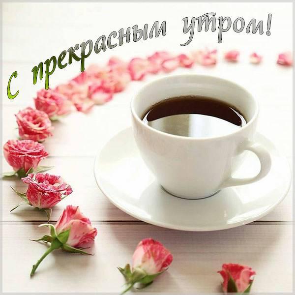 Картинка с прекрасным утром - скачать бесплатно на otkrytkivsem.ru