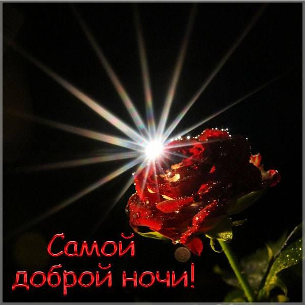 Картинка самой доброй ночи - скачать бесплатно на otkrytkivsem.ru