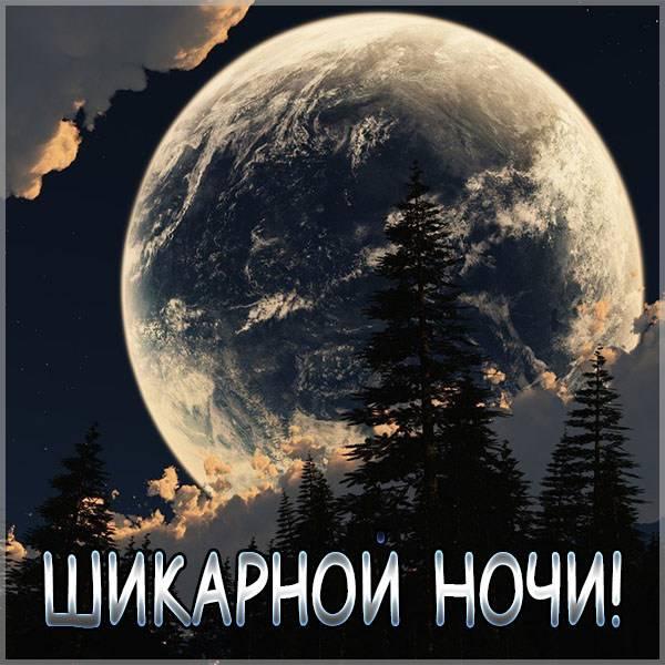 Картинка шикарной ночи - скачать бесплатно на otkrytkivsem.ru