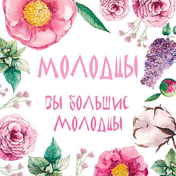 Картинка со словом молодцы - скачать бесплатно на otkrytkivsem.ru