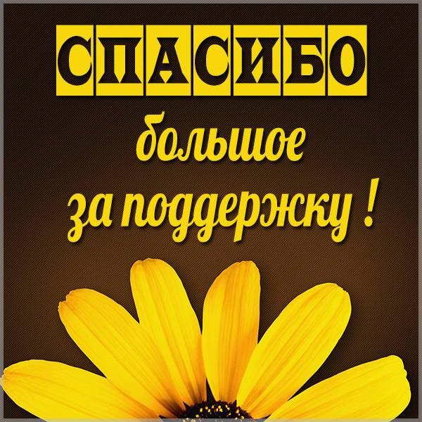 Картинка спасибо большое за поддержку - скачать бесплатно на otkrytkivsem.ru