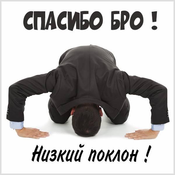 Картинка спасибо бро - скачать бесплатно на otkrytkivsem.ru